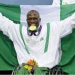 Nigerian Paralympic  Gold Medal Winner