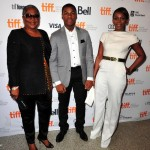 Onyeka Onwenu and Genevieve Nnaji at the 2013 TIFF Half of a Yellow Sun Premiere