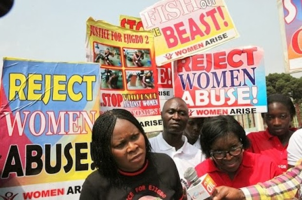 Ejigbo Women Protest 1 ADVOCACY: Latest Videos, Pictures & News on the Physical Torture of 2 EJIGBO Women for Stealing Pepper